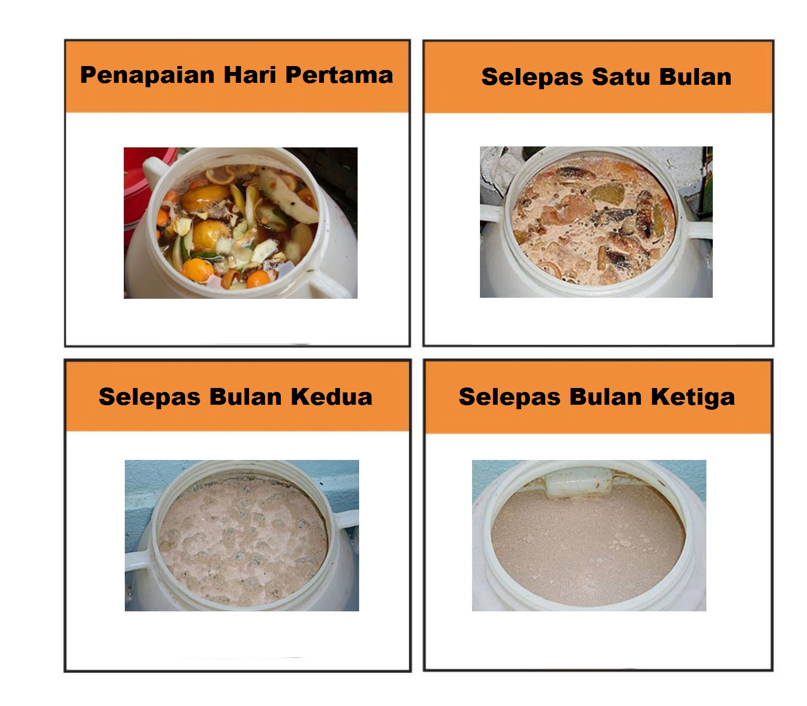 环保酵素做好第一天 Malay
